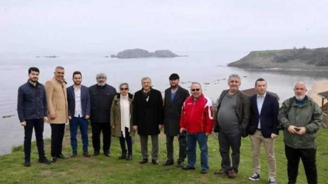 Başkan AYDIN, Elmasburnu'nda Yerel Basınla Buluştu
