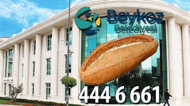 Beykoz Belediyesi'nden Bir Telefonla Ekmek Kapınızda!..