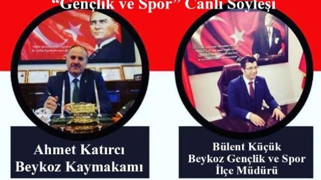 """Ahmet Katırcı ve Bülent Küçük """"Gençlik ve Spor"""" Canlı Söyleşisi'nde"""
