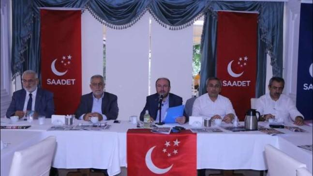 Saadet Partisi ile Yerel Basın Buluştu