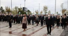 10 Kasım Atatürk'ü anma töreni gerçekleşti