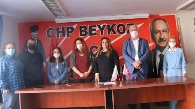 """CHP Beykoz Kadın Kolları """"Kadına Şiddete Hayır"""" Dedi"""