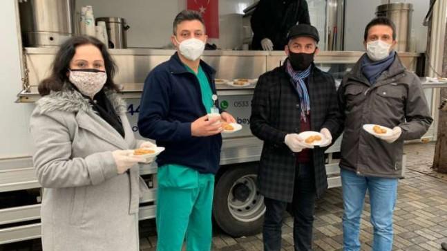 Trabzonlular Derneği'nden sağlıkçılara destek