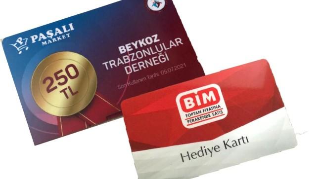 Beykozlu Trabzonlulardan 160 Aileye toplamda 40 bin lira destek