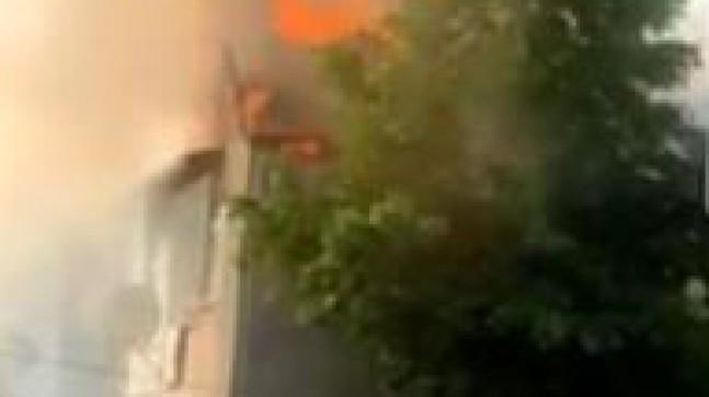 Ortaçeşme Mahallesi'nde yangın
