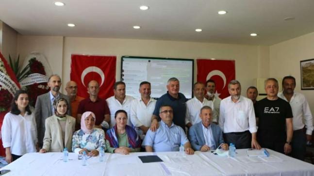 Beykozlu Trabzonlular Derneği'nde Erdal Uzuner Dönemi