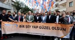 Osman Nuri Kabaktepe, Beykoz'u ziyaret etti.