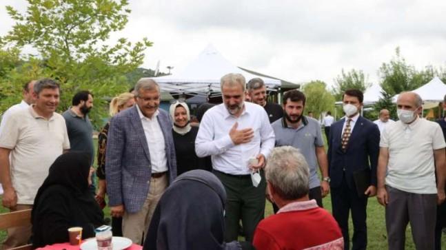 AK PARTİ İSTANBUL İL BAŞKANI OSMAN NURİ KABAKTEPE'DEN BEYKOZ'A SÜRPRİZ ZİYARET