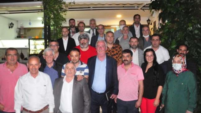 Dernekler Birliği, CHP'li Aydın Düzgün ile buluştu