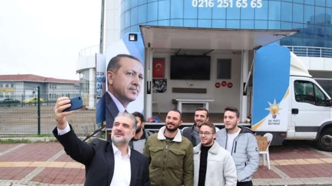 AK Parti İl Başkanı Kabaktepe gençlerle buluştu